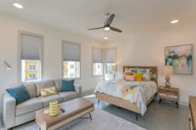 Master Suite with a Queen Bed and a Queen Sleeper Sofa