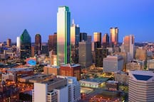 360 memorable views of downtown Dallas from rooftop