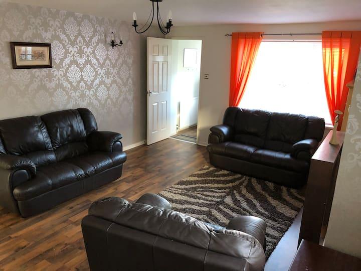 Comfortable modern 2 bedroom house