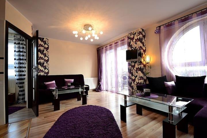 Apartament Liliowy - Jastrzębia Góra - Apartmen