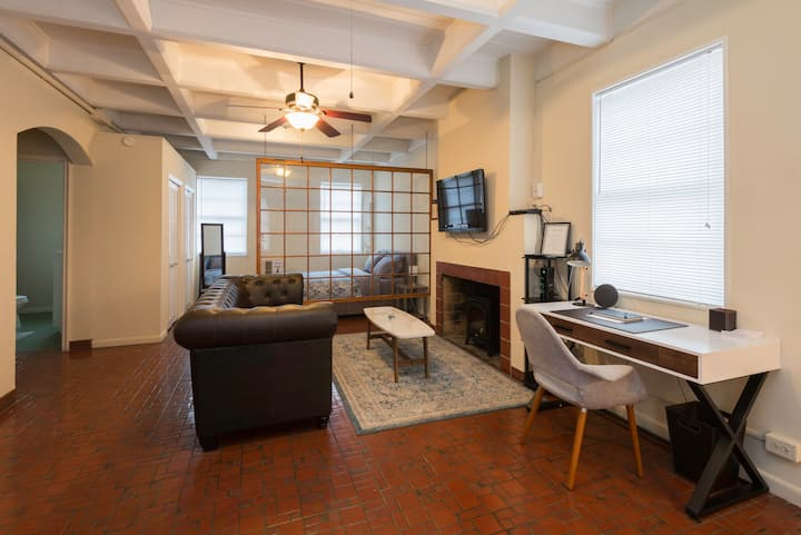 Top floor Studio in historic Anniston building