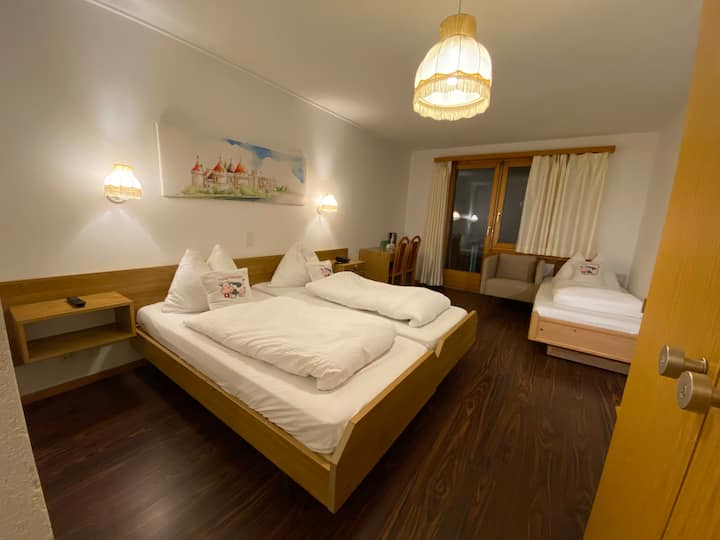 Triple Room with Balcony T