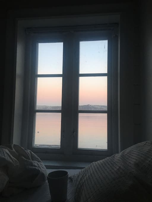 Coffe in bed early morning,-oceanview.one and only in building
