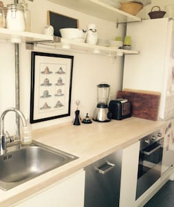 Light, cosy apartment close to city and beach - Hellerup