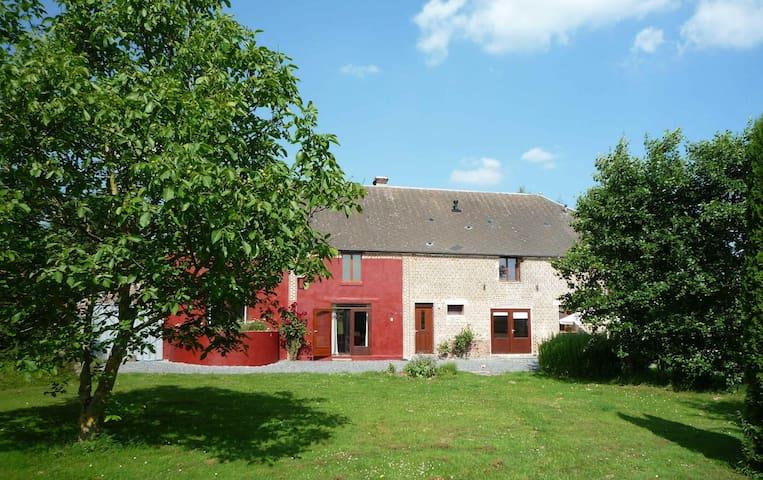 Comfortabele woonboerdrij in de Thiérache - Jeantes - Casa