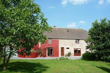 Comfortabele woonboerdrij in de Thiérache - Jeantes - Rumah