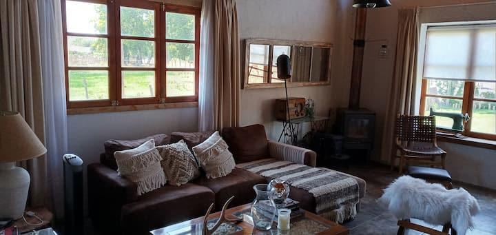 Casa de campo, cercana a viñas de Santa Cruz