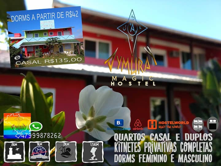 AymuraY Magic Hostel Penha SC Praias Beto Carrero
