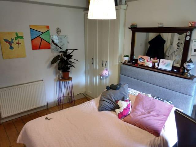 economic double room in a quiet house