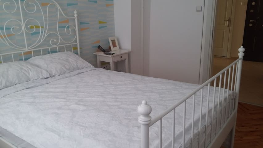 Double room in clean lıght flat in Izmir - Bornova - Appartement