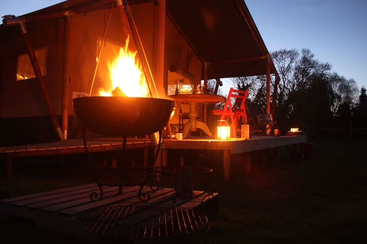 Chase End Lodge, Up Sticks Glamping