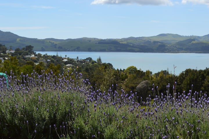 Lavender Blue, Mangonui:Apartment for 2 on 4 acres