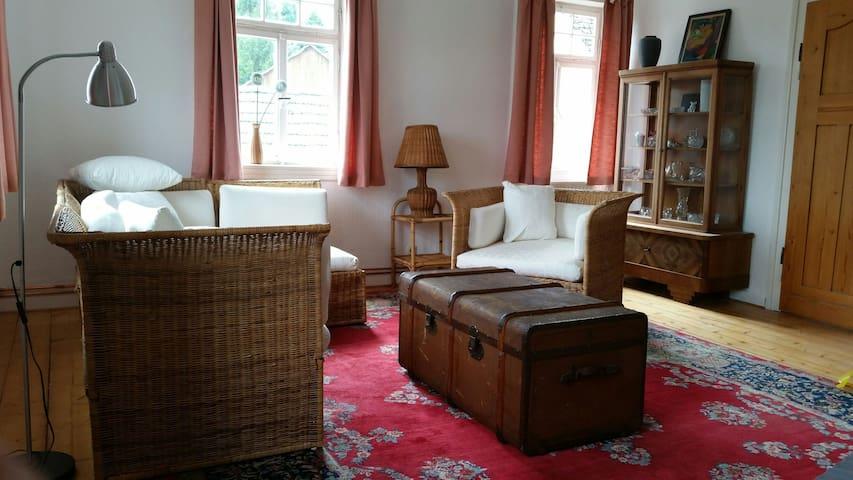 gemütliche Wohnung Gutshof Linde - Pressig - Lägenhet