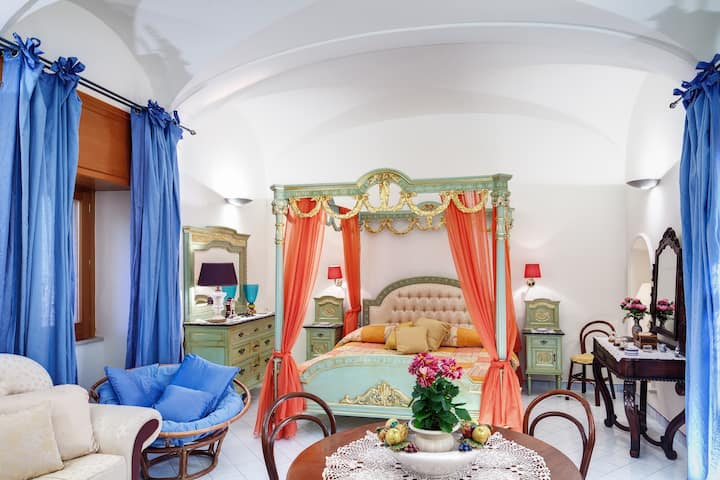 Apartment Flower - in Sorrento coast with sea view