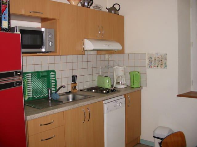 Appartement 2 étoiles de 41 M2, agréable et calme