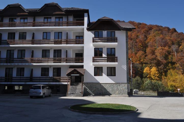 Bakuriani Crystalville Apartment - Bakuriani