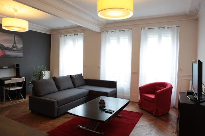 Appartement 50 m2, cozy au coeur de Paris