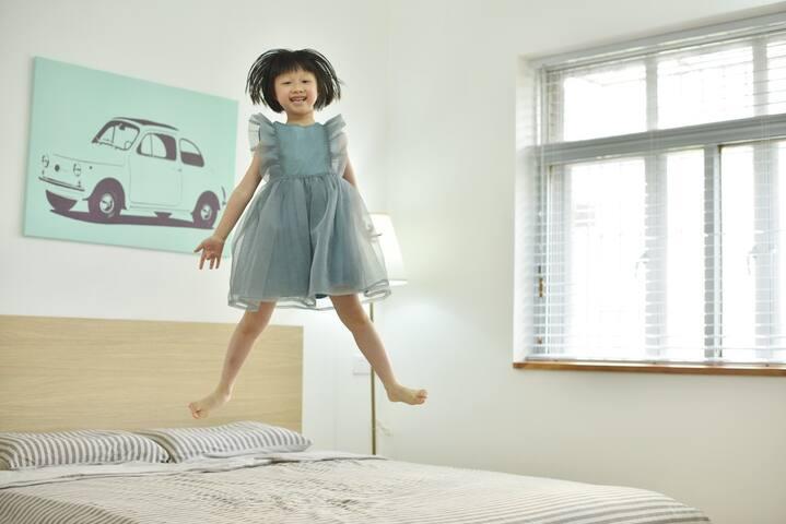 【良仓民宿】北京路商圈,给您一个文艺舒适的家!