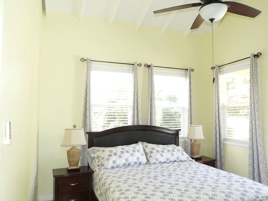 Deluxe Room - King Bed Ceiling Fan