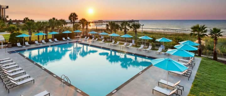 Hotel Suite at DoubleTree Myrtle Beach Resort
