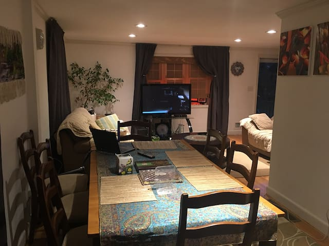 A cozy private room in a safe and nice area - Arlington - Condominium
