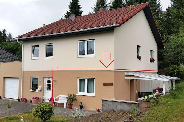 NEUE  FeWo mit Terrasse und WLAN (50 MBit/s)