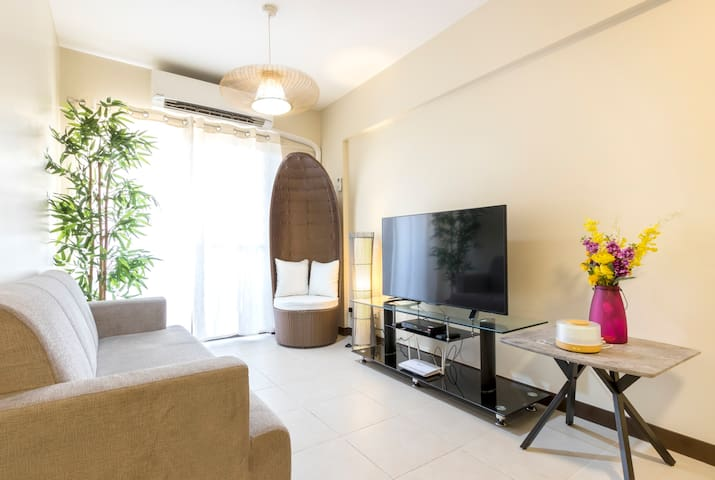 CHARMING CASITA: 2BRs+50mbps Fibr+NETFLIX+Parking