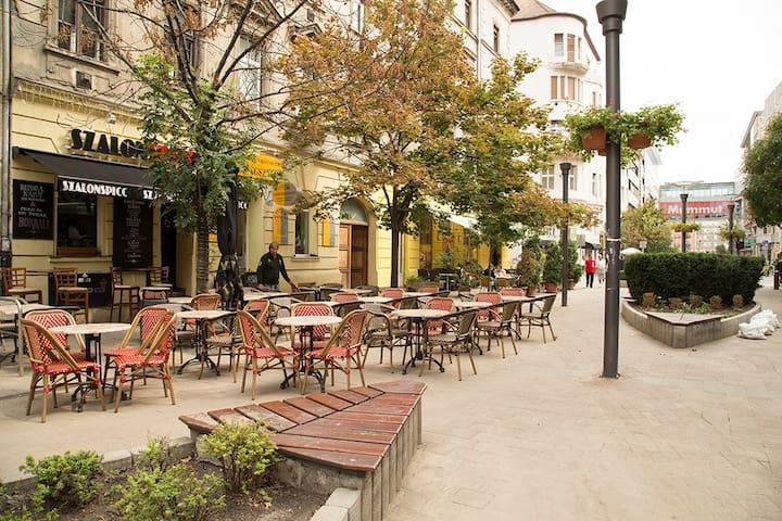 Foothills Promenade APT - Budapeste - Apartamento