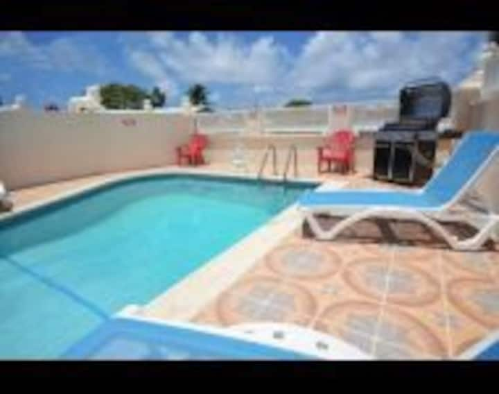 Luxury 2 Bedroom villa  with pool on Southcoast