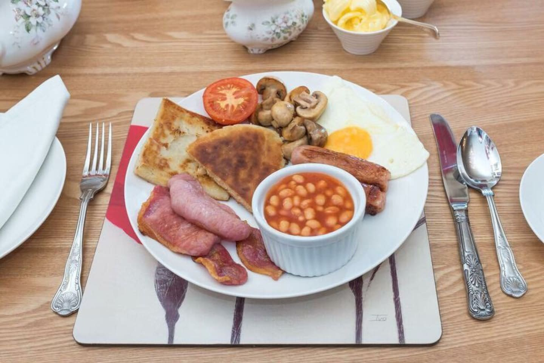 Irish Breakfast at Ashbrook House B&B