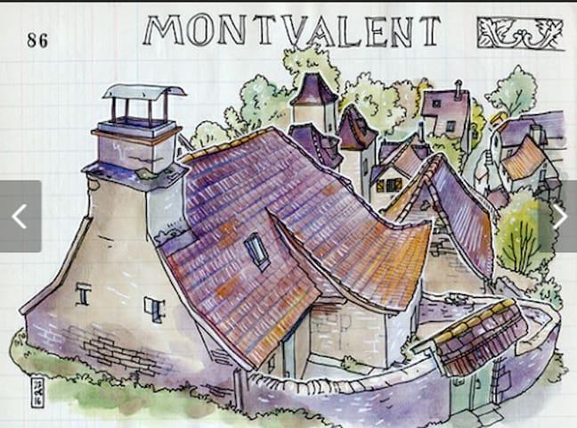 Montvalent , ma maison !!