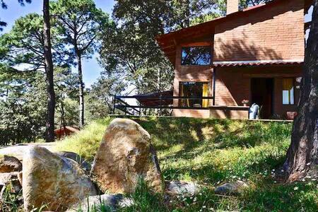 Cabaña ecológica en Pinares Tapalpa