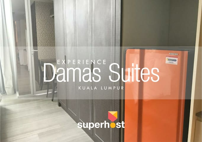 Luxury Studio | Bathtub | 100 Mbps Wifi @ Damas