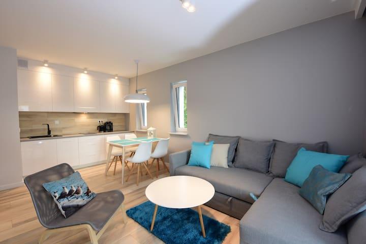 Apartament Pogorzelica 150m od plaży - Pogorzelica - Appartamento