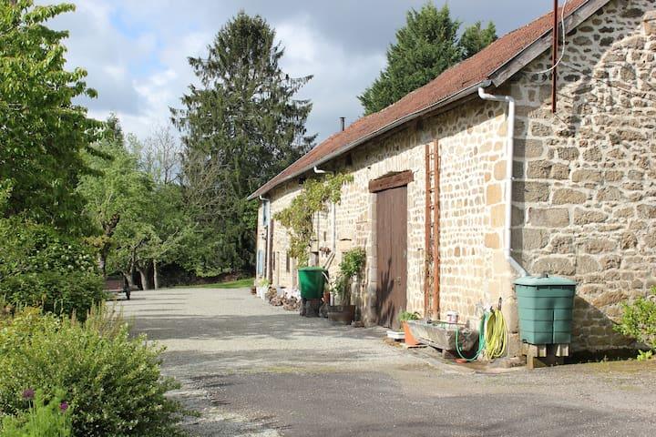 Barns  La Petite Maison at end