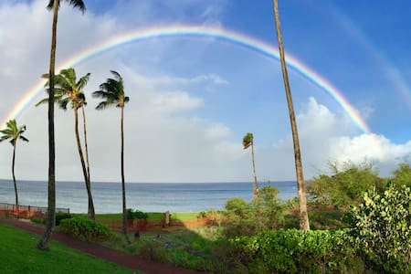 Cottage 1B- The Best Ocean Front Lanai!