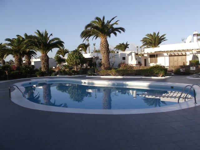 In residential area. Fully equipped. WIFI - Playa Blanca - Wohnung