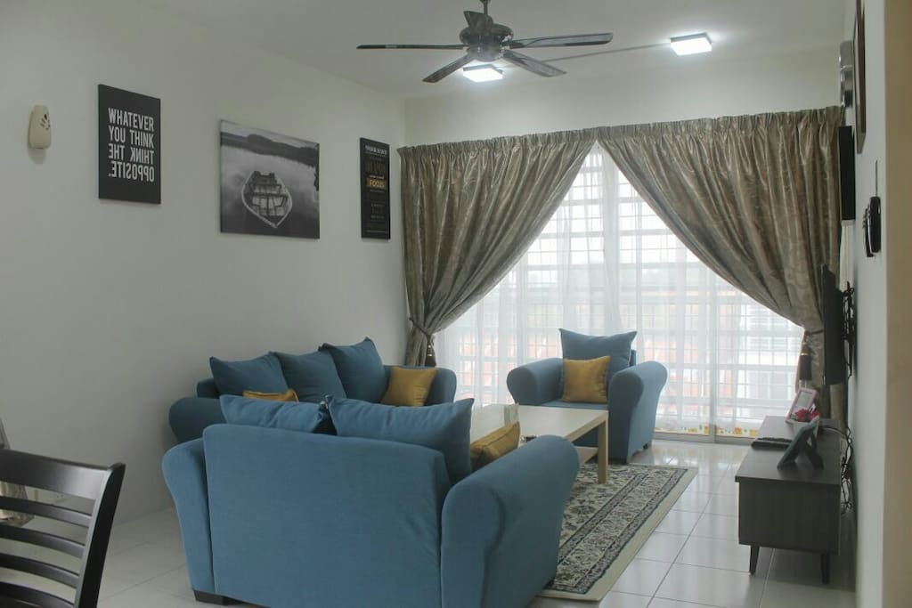 The Living Room give the Guest feel like Home..