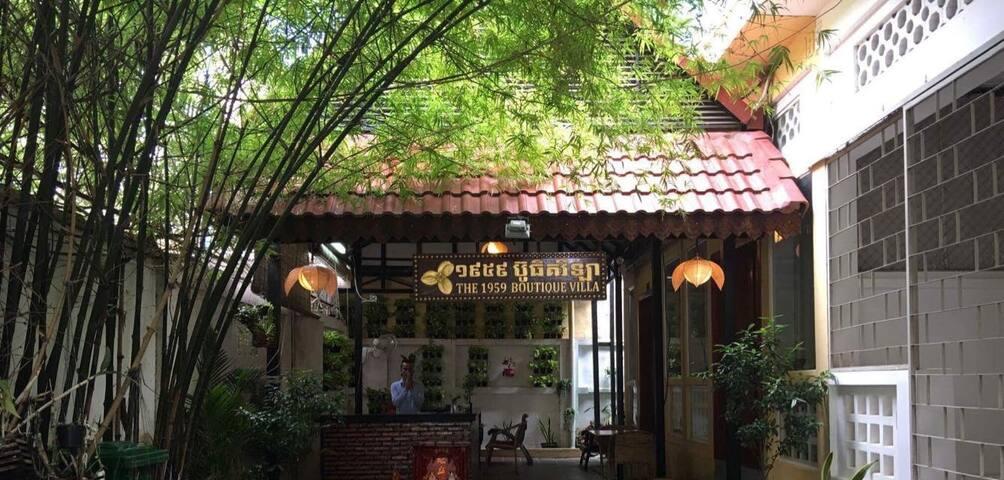 1959 Boutique Villa - Private Villa - Phnom Penh