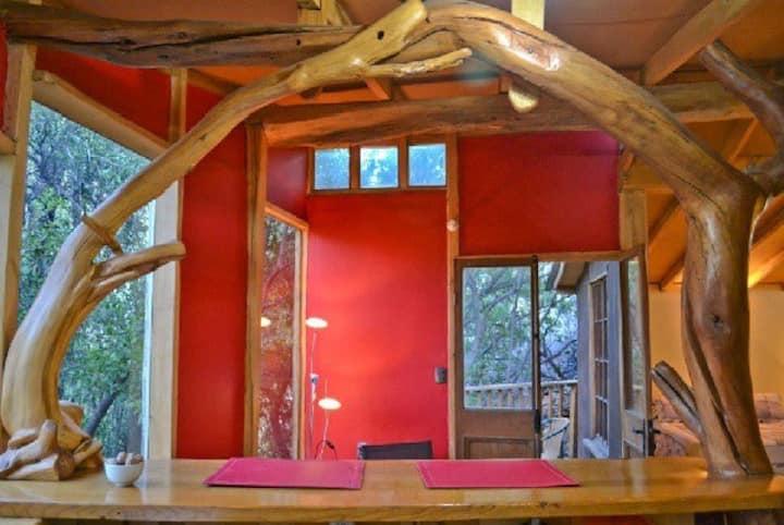 Cabañas La Alfonsina: Cabaña N°1  Huilles