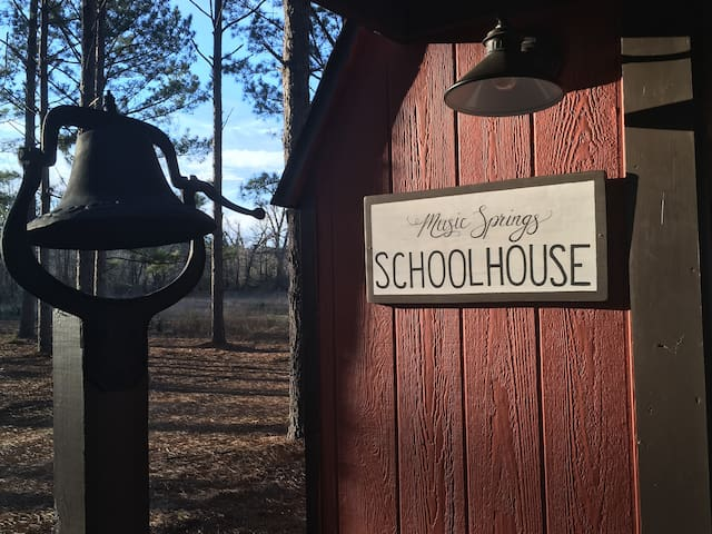 New! The Schoolhouse at Music Springs