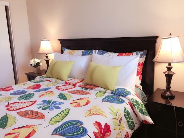 房间干净整洁 宽敞明亮 近超市 银行 近UCI - Irvine - Villa