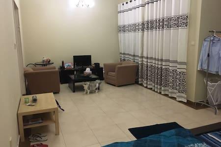 Huge furnished Master Studio Room, close to MOE - Dubai - Apartment