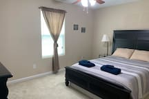Cozy, private bedroom