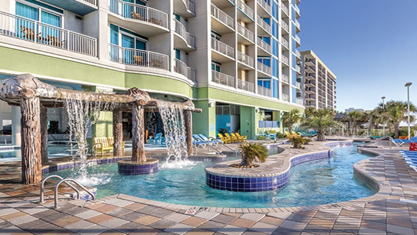 Relax on Myrtle Beach with Towers on the Grove!