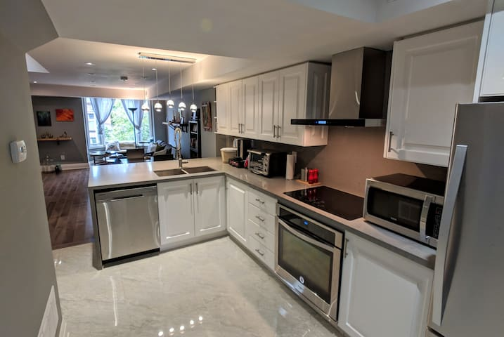 Large and functional kitchen