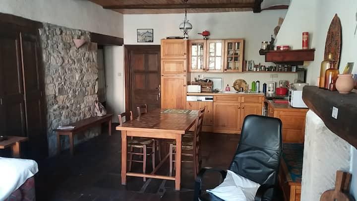 appartement situé en rez de chaussée dans maison