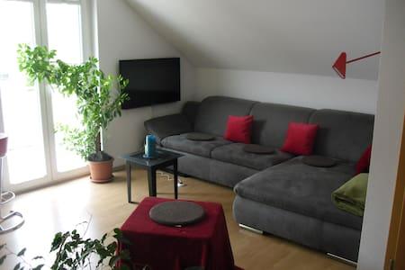 Zweiraumwohnung mit Balkon - Apartment