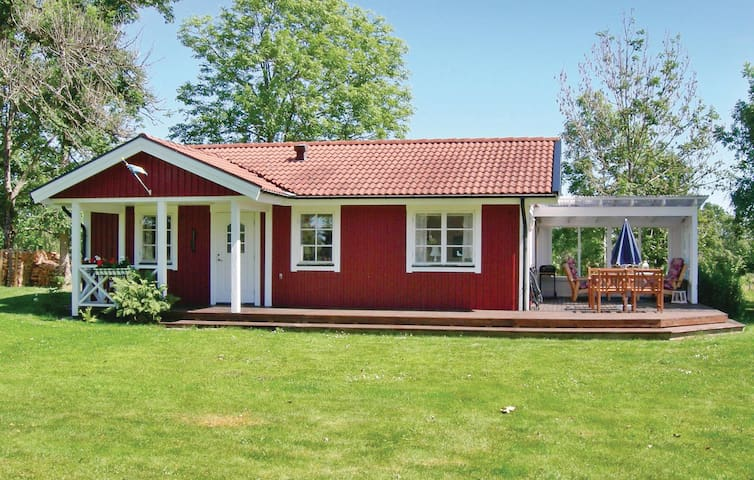 Holiday cottage with 3 bedrooms on 62 m² in Bodafors