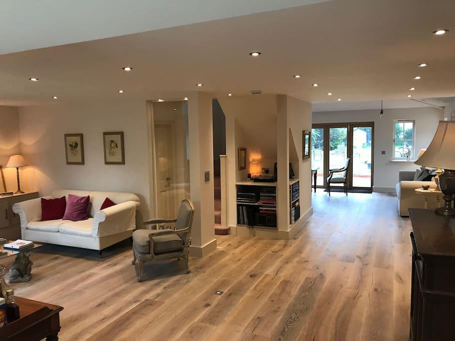 Wonderfull open living area